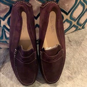 Men's Suede slip on shoes